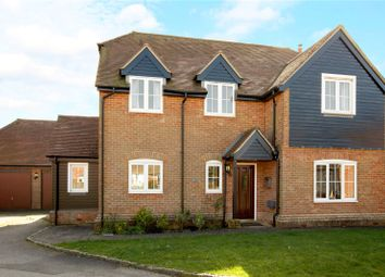 Thumbnail 4 bed detached house for sale in The Pightle, Peasemore, Newbury, Berkshire