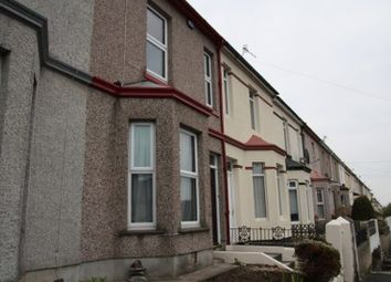 Thumbnail 3 bed terraced house to rent in Old Laira Road, Plymouth