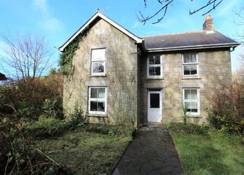 Thumbnail 3 bed detached house for sale in Vellynsaundry, Camborne