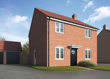 "Thumbnail 4 bedroom detached house for sale in ""The Polebrook"" at Lincoln Road, Navenby, Lincoln"