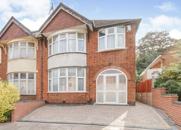 4 bed semi-detached house for sale in St. Philips Road, Evington, Leicester LE5