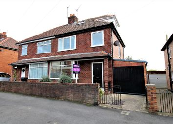 Thumbnail 4 bedroom semi-detached house for sale in Beech Avenue, York