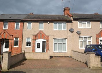 Thumbnail 3 bed terraced house to rent in Ruskin Road, Northampton
