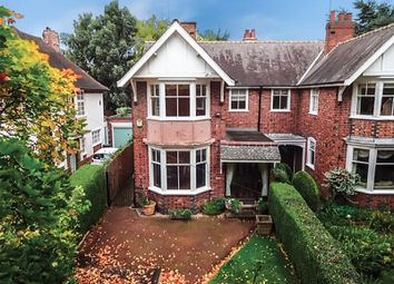 Thumbnail 3 bed semi-detached house for sale in Chapel Lane, Knighton, Leicester