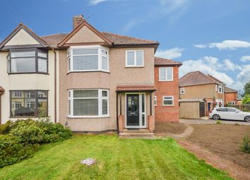 Thumbnail 4 bedroom semi-detached house for sale in Hart Close, Rugby