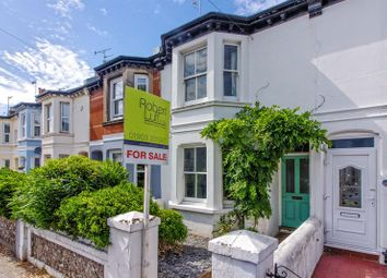 Thumbnail 3 bed terraced house for sale in Queen Street, Broadwater, Worthing