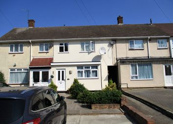 Thumbnail 3 bed terraced house to rent in Cricklade Avenue, Romford, Essex