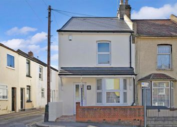 Thumbnail 2 bed end terrace house for sale in Charter Street, Gillingham, Kent