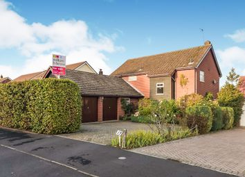 Thumbnail 4 bedroom detached house for sale in Keswick Road, Cringleford, Norwich