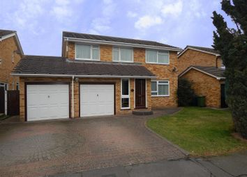 Thumbnail 4 bed detached house for sale in Browning Drive, Eaton Ford, St. Neots
