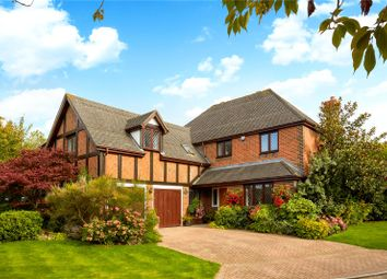 Thumbnail 5 bedroom detached house for sale in Cuddington Park Close, Banstead, Surrey