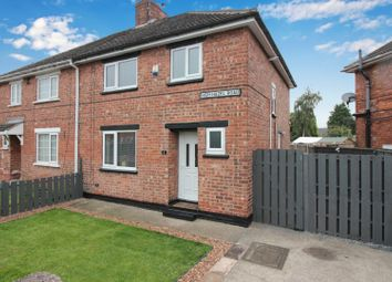 3 bed semi-detached house for sale in High Hazel Road, Moorends, Doncaster, South Yorkshire DN8
