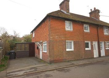 Thumbnail 2 bed end terrace house for sale in New Road, Ridgewood, Uckfield, East Sussex
