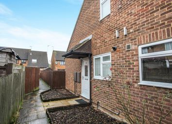 Thumbnail 1 bed end terrace house for sale in Lucas Gardens, Luton