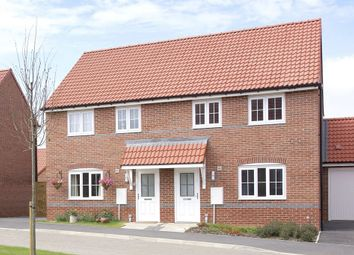 "Thumbnail 3 bed semi-detached house for sale in ""Finchley"" at Larpool Mews, Larpool Drive, Whitby"