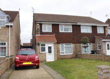Thumbnail 3 bed semi-detached house to rent in Butler Close, Leicester