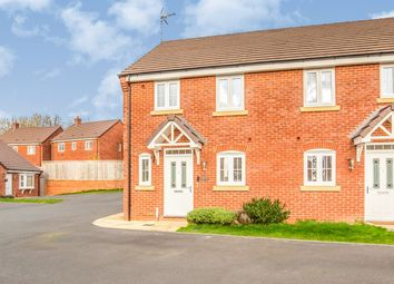 Thumbnail 3 bed semi-detached house for sale in Keepers Croft, Derbyshire, Ashbourne