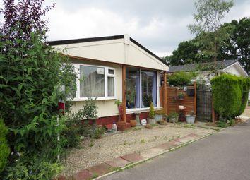 Thumbnail 2 bedroom mobile/park home for sale in Hillbury Road, Alderholt, Fordingbridge