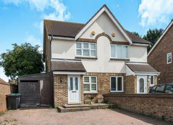 Thumbnail 2 bedroom semi-detached house for sale in Richmond Drive, Gravesend, Kent