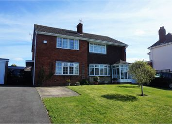 Thumbnail 3 bedroom semi-detached house for sale in Brewood Road, Wolverhampton