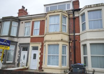 Thumbnail 5 bed terraced house for sale in Burlington Road, Blackpool