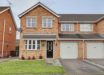 Thumbnail 3 bedroom semi-detached house for sale in Knightley Way, Kingswood, Hull