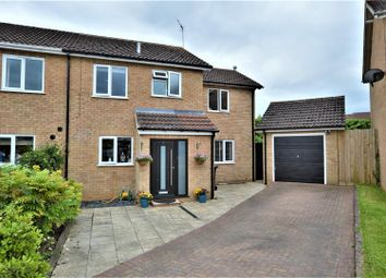 Thumbnail 4 bed semi-detached house for sale in Fir Road, Stamford