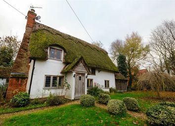 Thumbnail 4 bed detached bungalow for sale in Church Lane, Thwaite, Eye, Suffolk