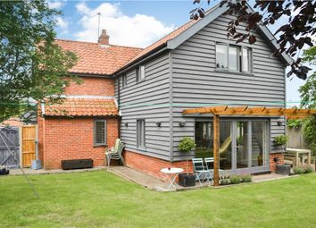 Thumbnail 4 bed detached house for sale in School Lane, Redenhall, Harleston