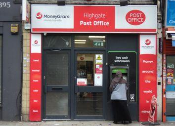 Thumbnail Retail premises for sale in Highgate, London