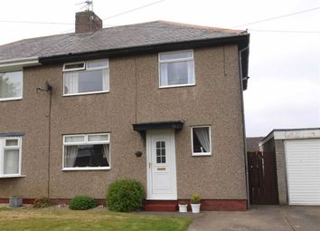 Thumbnail 3 bed semi-detached house for sale in Mayfield Avenue, Cramlington
