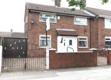 Thumbnail 2 bed end terrace house for sale in Bewley Drive, Kirkby, Liverpool