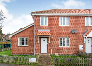 Thumbnail 3 bed semi-detached house for sale in Riverside Maltings, Rose Lane, Diss