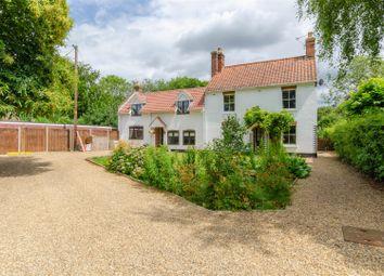 Thumbnail 5 bed cottage for sale in School Road, Frettenham, Norwich