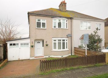 Thumbnail 3 bed semi-detached house for sale in St. James Avenue East, Corringham, Stanford-Le-Hope