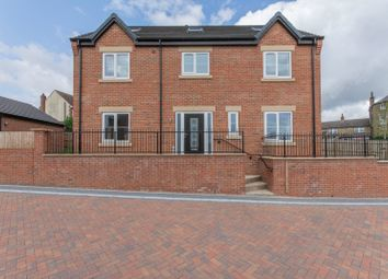 Thumbnail 5 bed detached house for sale in The Parks, Main Street, South Hiendley, South Yorkshire