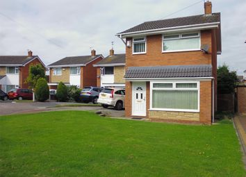 Thumbnail 3 bed detached house for sale in Harris Close, Spital, Wirral