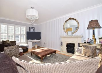 Thumbnail 4 bed town house for sale in Ingress Park Avenue, Greenhithe, Kent