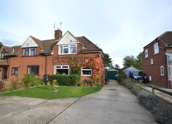 Thumbnail 2 bed semi-detached house for sale in Acle, Norwich