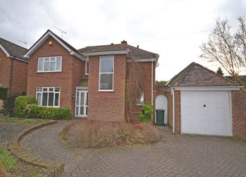 Thumbnail 4 bed detached house to rent in Armorial Road, Styvechale, Coventry