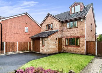 Thumbnail 4 bedroom detached house for sale in Valentines Road, Atherton, Manchester