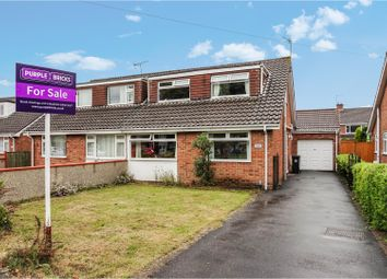 Thumbnail 5 bed semi-detached house for sale in Allerton Crescent, Whitchurch