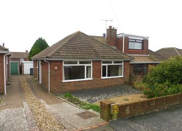 Thumbnail 2 bedroom semi-detached bungalow for sale in Hill Farm Way, Southwick, Brighton