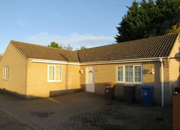 Thumbnail 3 bed bungalow to rent in Church Close, Church Lane, Beck Row