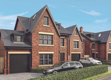 Thumbnail 5 bed detached house for sale in Lostock Hall Road, Lostock, Poynton