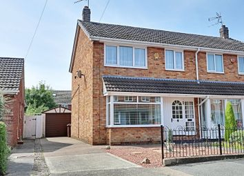 Thumbnail 3 bed semi-detached house for sale in Sutton House Road, Hull