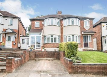 3 bed semi-detached house for sale in Marsham Road, Kings Heath, Birmingham, West Midlands B14