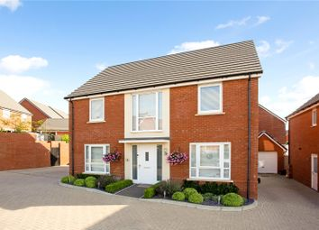 Thumbnail 4 bed detached house for sale in Mannock Field, Longhedge, Salisbury
