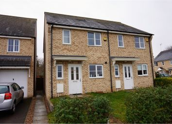 Thumbnail 2 bedroom semi-detached house for sale in Wellbrook Way, Cambridge