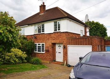 Thumbnail 3 bed detached house to rent in Mead Way, Bushey